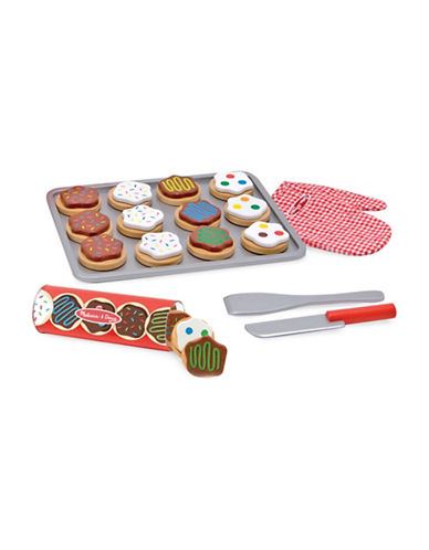 Melissa & Doug Wooden Cookie Set-MULTI-One Size