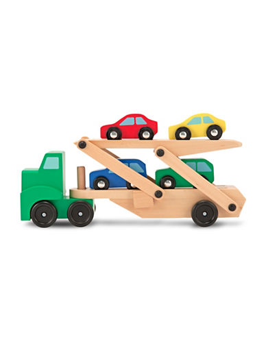 Melissa & Doug Car Transporter Set-MULTI-One Size