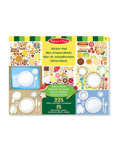Melissa & Doug Make-A-Meal Sticker Pad-MULTI-One Size