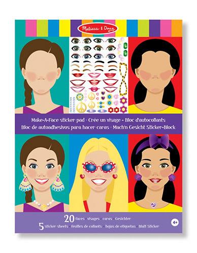 Melissa & Doug Make-a-Face Sticker Pad-MULTI-One Size