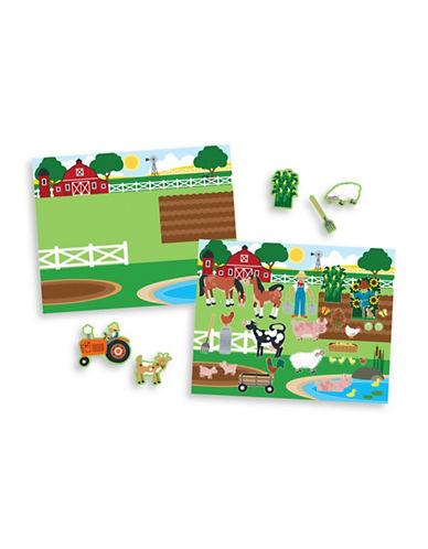Melissa & Doug Reusable Habitats Sticker Pad-MULTI-One Size