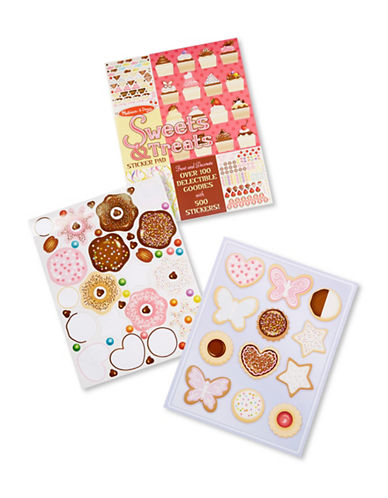Melissa & Doug Sweets and Treats Sticker Pad-MULTI-One Size