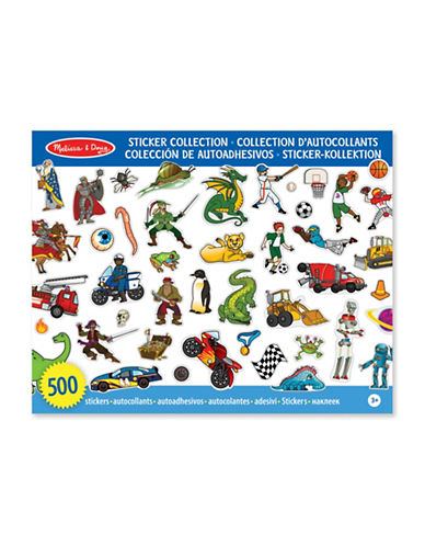 Melissa & Doug Themed Sticker Collection-MULTI-One Size