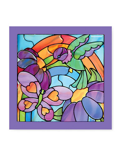 Melissa & Doug Stained Glass Made Easy - Rainbow Garden-MULTI-One Size