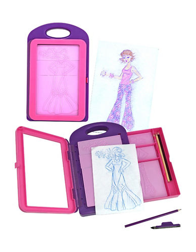 Melissa & Doug Fashion Design Activity Kit-MULTI-One Size