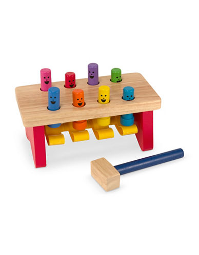 Melissa & Doug Deluxe Pounding Bench-MULTI-One Size