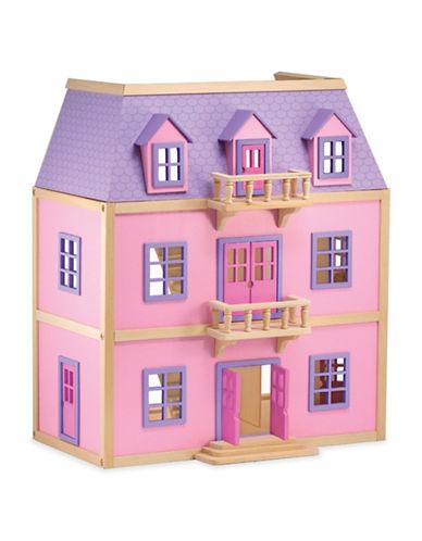 Melissa & Doug Multi-Level Wooden Dollhouse-MULTI-One Size