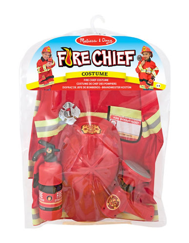 Melissa & Doug Fire Chief Role Play Set-MULTI-One Size
