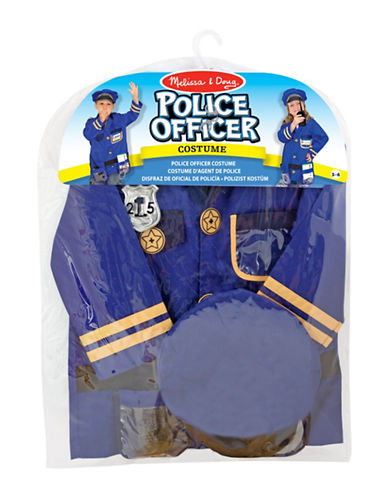 Melissa & Doug Police Officer Role Play Set-MULTI-One Size