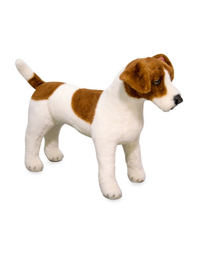 Melissa & Doug Jack Russell Terrier Plush-MULTI-One Size