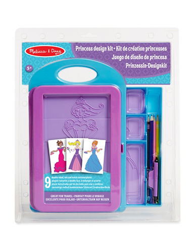 Melissa & Doug Princess Design Activity Kit-MULTI-One Size