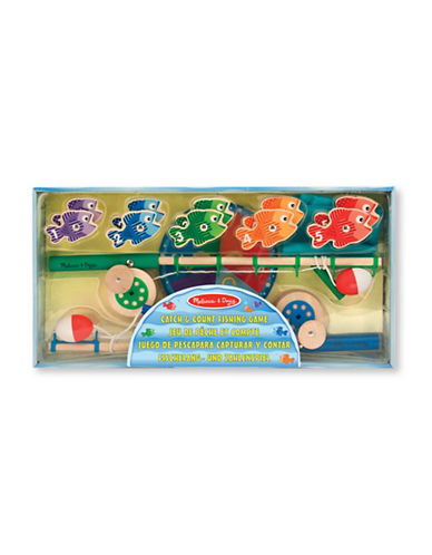 Melissa & Doug Catch and Count Fishing Game-MULTI-One Size