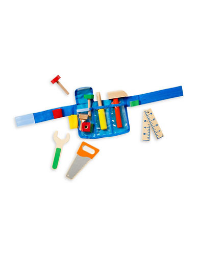 Melissa & Doug Deluxe Tool Belt Set-MULTI-One Size