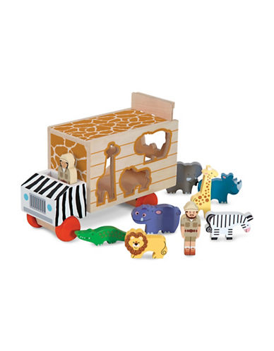 Melissa & Doug Animal Rescue Shape-Sorting Truck-MULTI-One Size