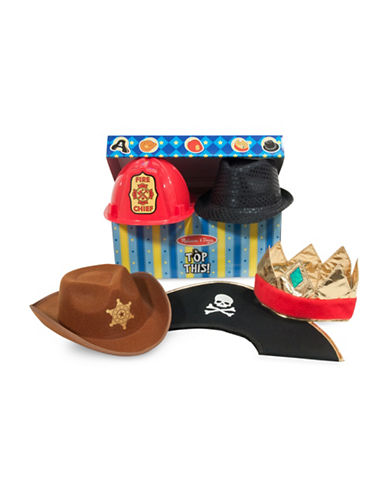 Melissa & Doug Five-Piece Top This Role Play Hats-MULTI-One Size