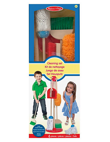 Melissa & Doug Lets Play House Dust, Sweep and Mop-MULTI-One Size