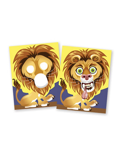 Melissa & Doug Make-A-Face Crazy Animals Sticker Pad-MULTI-One Size