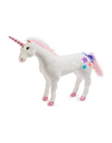 Melissa & Doug Plush Unicorn Toy-MULTI-One Size