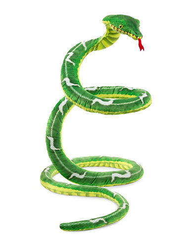 Melissa & Doug Snake Plush-MULTI-One Size