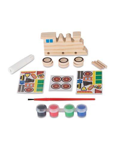 Melissa & Doug Decorate-Your-Own Train Crafting Set-MULTI-One Size