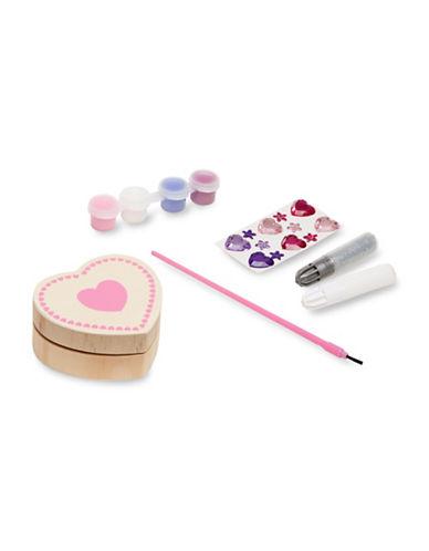 Melissa & Doug Heart-Shaped Box Kit-MULTI-One Size