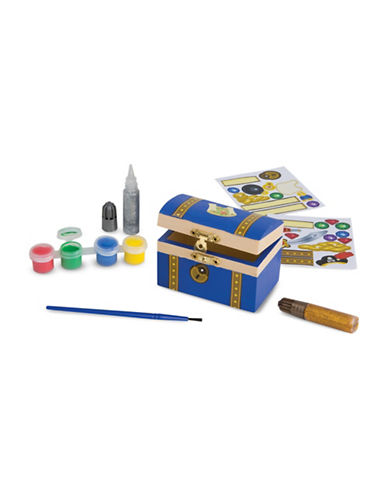 Melissa & Doug Pirate Chest Kit-MULTI-One Size