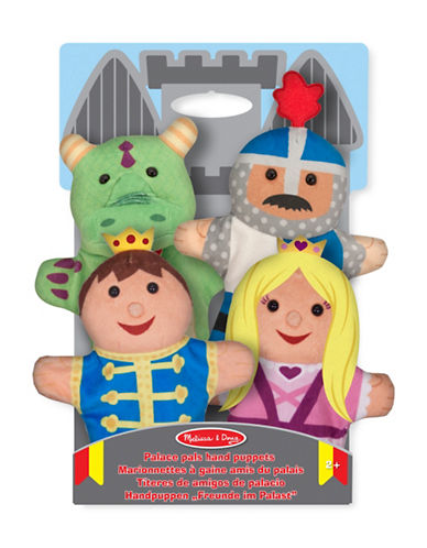 Melissa & Doug Four-Piece Palace Pals Hand Puppets-MULTI-One Size