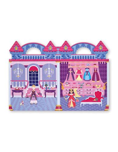 Melissa & Doug Reusable Princess Puffy Stickers-MULTI-One Size