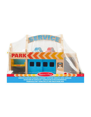 Melissa & Doug Service Station Parking Garage-MULTI-One Size