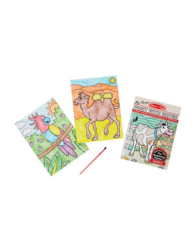 Melissa & Doug My First Paint With Water Animal Art Pad-MULTI-One Size