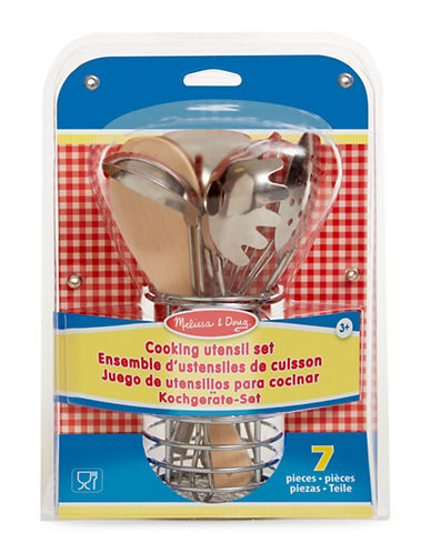 Melissa & Doug Cooking Utensil Set-MULTI-One Size