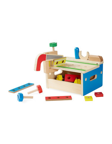Melissa & Doug 32-Piece Hammer and Saw Tool Bench-MULTI-One Size
