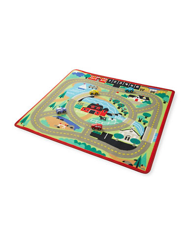 Melissa & Doug Around the Town Road Rug-MULTI-One Size