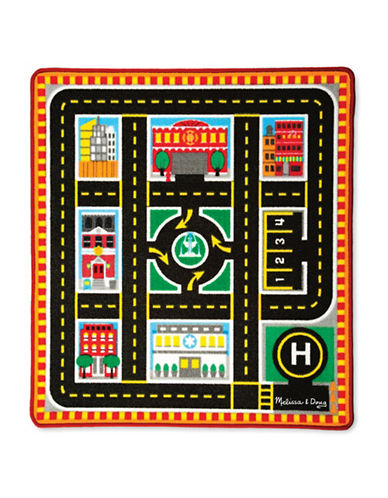 Melissa & Doug Around The City Rescue Rug-MULTI-One Size