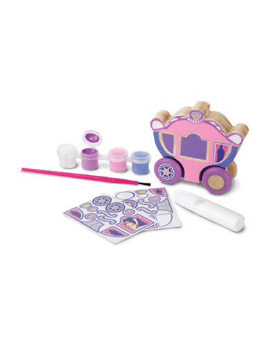 Melissa & Doug DYO Princess Carriage-MULTI-One Size
