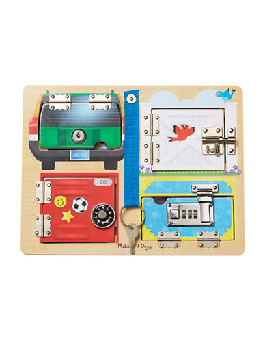 Melissa & Doug Lock and Latch Board-MULTI-One Size