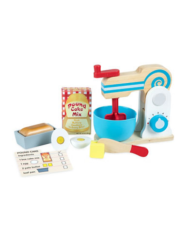 Melissa & Doug Wooden Make-a-Cake Mixer Set-MULTI-One Size