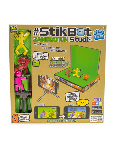 Zing Stikbot Studio Pets Pro-MULTI-One Size