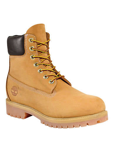 Timberland 6 inch Premium Boot-WHEAT-5.5
