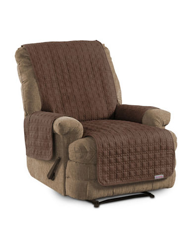 Sure Fit Microsuede Recliner and Chaise Protector-BARK-One Size