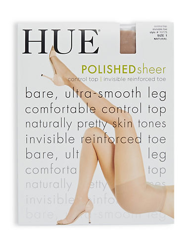 Hue So Silky Polished Sheer with Control Top-NATURAL-3