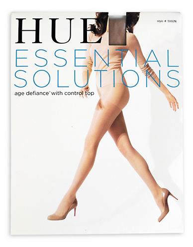 Hue Age Defiance Control Top Pantyhose-NATURAL-3