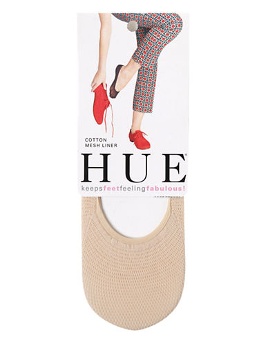 Hue Cotton Mesh Liner-BEIGE-One Size