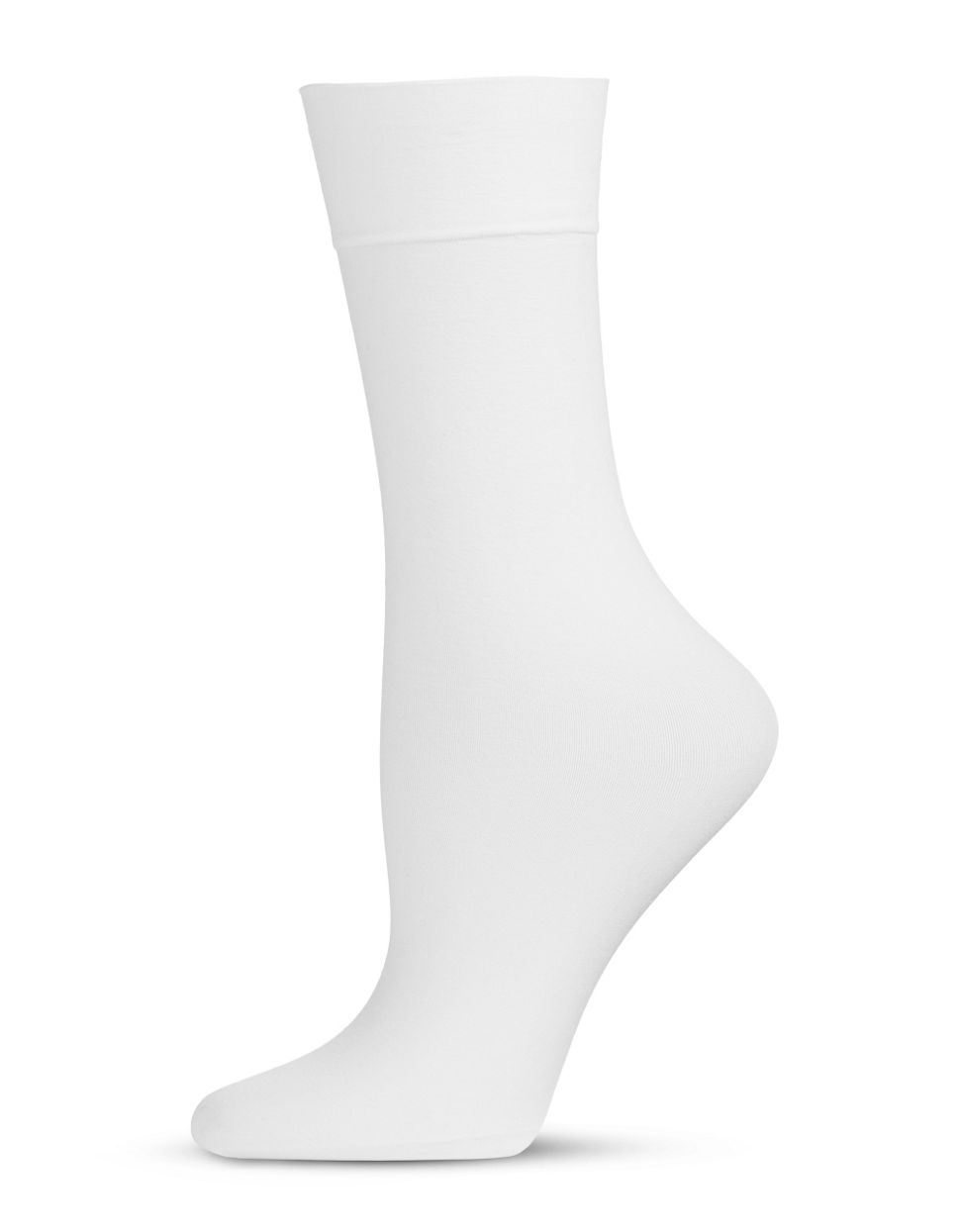 Hue Opaque Knee High white 2