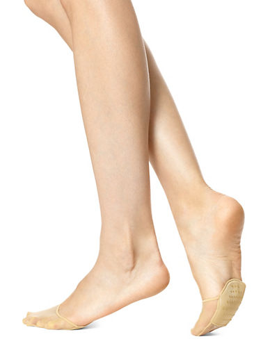 Hue Perfectly Bare Toe Cover-LIGHT BEIGE-One Size