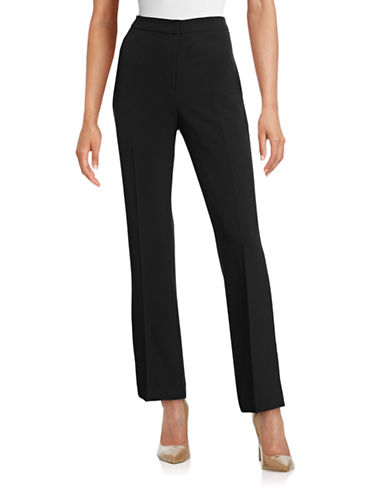 Kasper Suits Kate Classic Fit Pants-BLACK-16