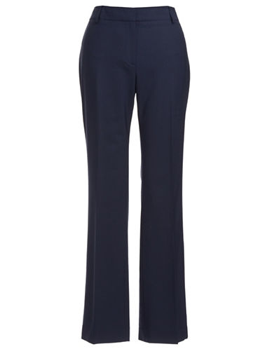 Jones New York Collection Petite Wool Blend Dress Pants-NAVY-Petite 4