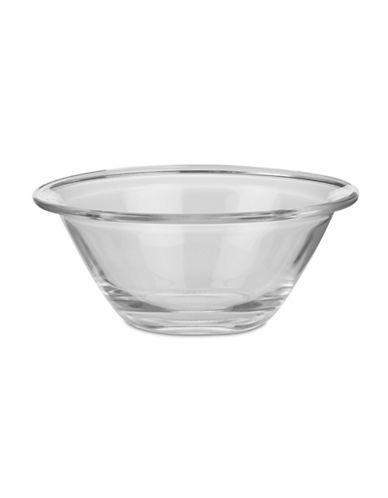 Trudeau Trudeau Mr Chef Glass Bowl-CLEAR-One Size