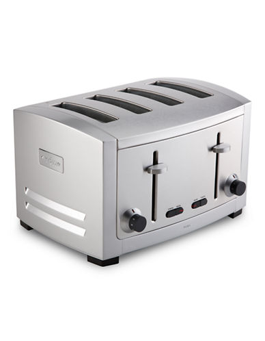 All-Clad 4 Slice Toaster-SILVER-One Size
