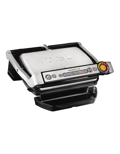 T-Fal OptiGrill Plus Griller-SILVER-One Size